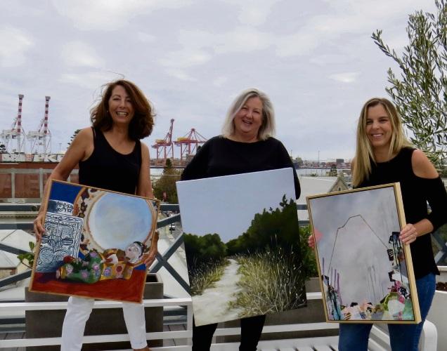 Teresa Fernandez, Anita Phillips and Melissa Bentley.