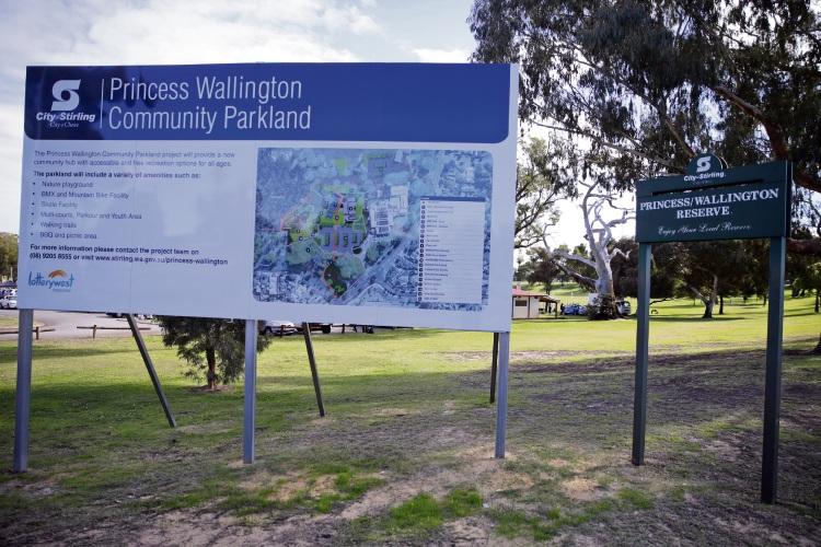 Parkour and bike track in Balga park upgrades