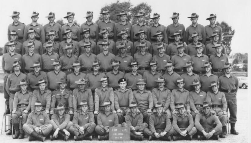 The Charlie Company 11th Platoon 2/68 were conscripted into the Vietnam War, and met on the Puckapunyal army base in May 1968.