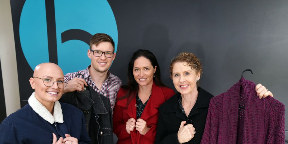 Taylah Kenny, Dr Beau Binning, Rebecca McKimmie and Tracey Hennessy. Picture: Martin Kennealey d492887