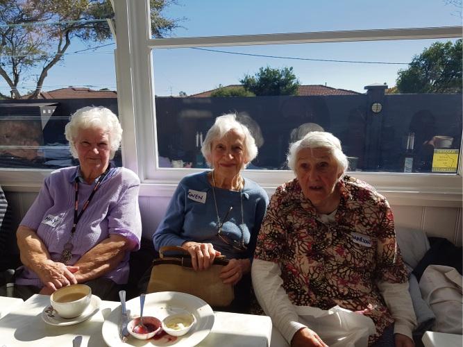 Mary, Gwyn and Marion.