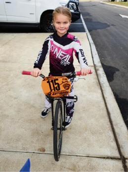 Port Kennedy girl to compete in BMX world chamionships