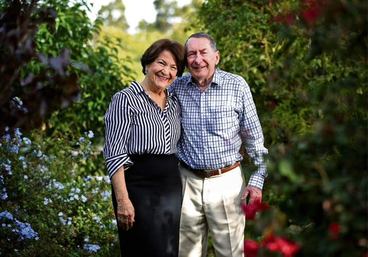Bernadette and Russell Waugh of Swan View. Pic: David Baylis d493733d