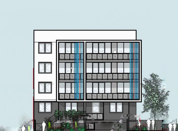 Artist impression of the refused plans for apartments in Innaloo.