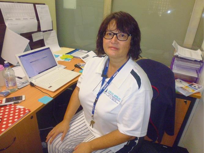 Even Keel Bipolar Support Association general manager Tanya Siebel.