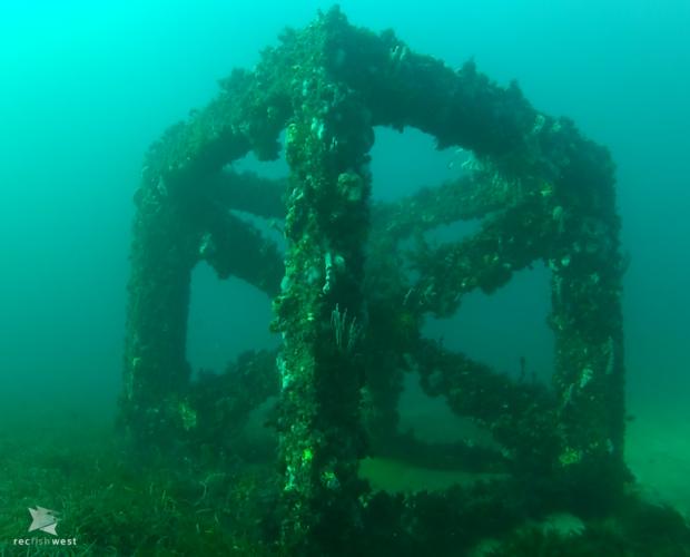 The artificial reef in Bunbury. Picture: Recfishwest