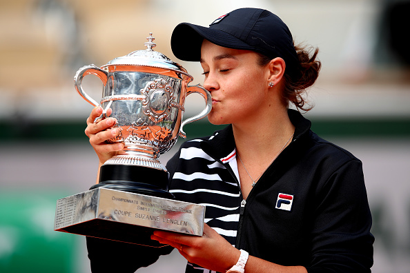 Ash Barty claims French Open title
