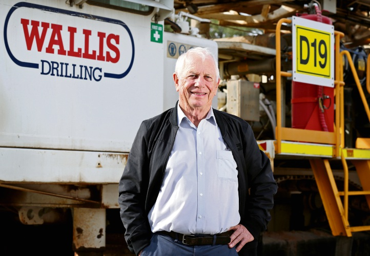 Wallis Drilling chief Graeme Wallis. Picture: David Baylis d493736