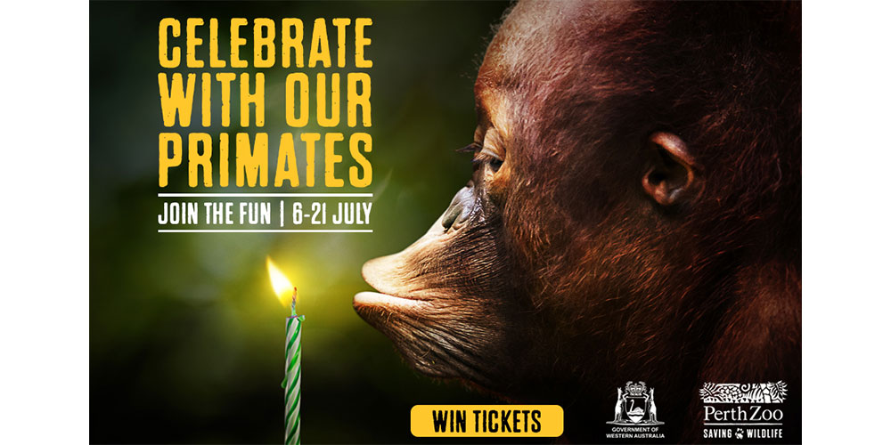 Win a family pass to Perth Zoo