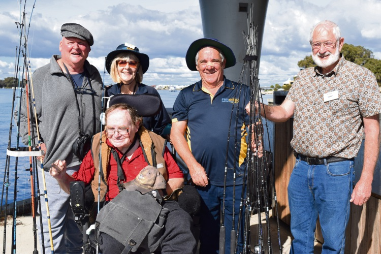 Fishability benefits from Mandurah Rotary Wishing Well