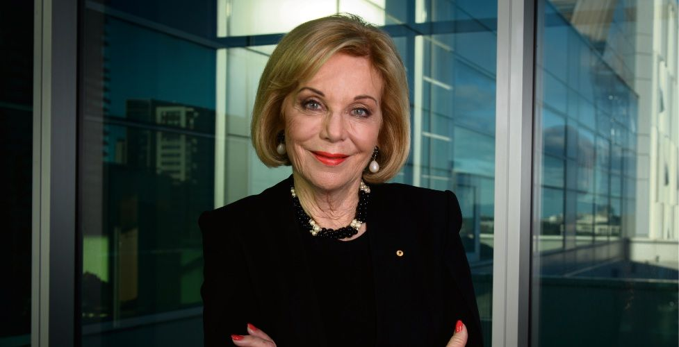 ABC chair Ita Buttrose. Picture: AAP
