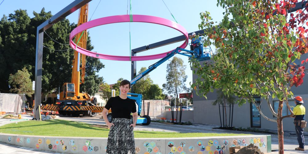 City of Vincent mayor Emma Cole at North Perth Common. Picture: Supplied.