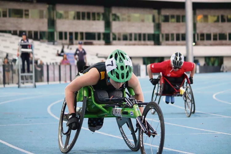 Wheelchair whiz sets sights on World Championships and Paralympics