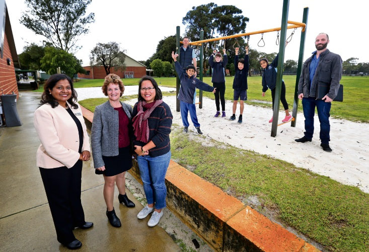 School students lead push for playground