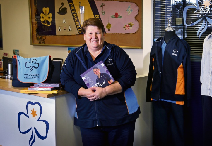 Noranda resident Katrina Lane will start her new role as State Commissioner at Girl Guides WA based in Belmont in July. Picture: David Baylis