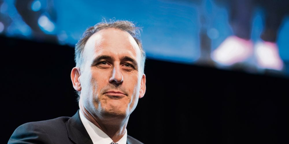 Wesfarmers managing director Rob Scott. Picture: AAP Image/Tony McDonough