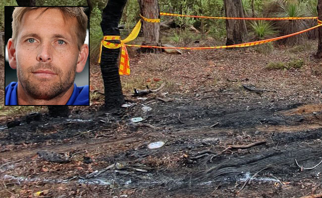Former Eagle saves two lives in fiery crash