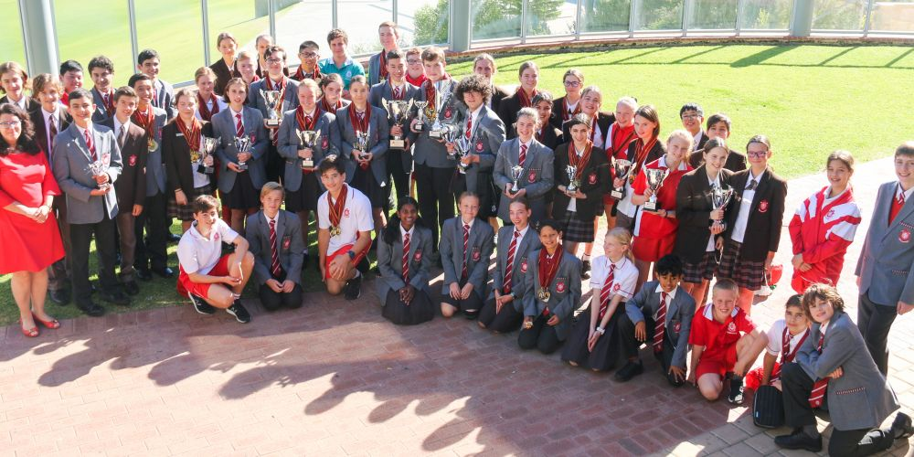Sacred Heart College hosted the Perth round of the World Scholar's Cup, submitting 21 teams.