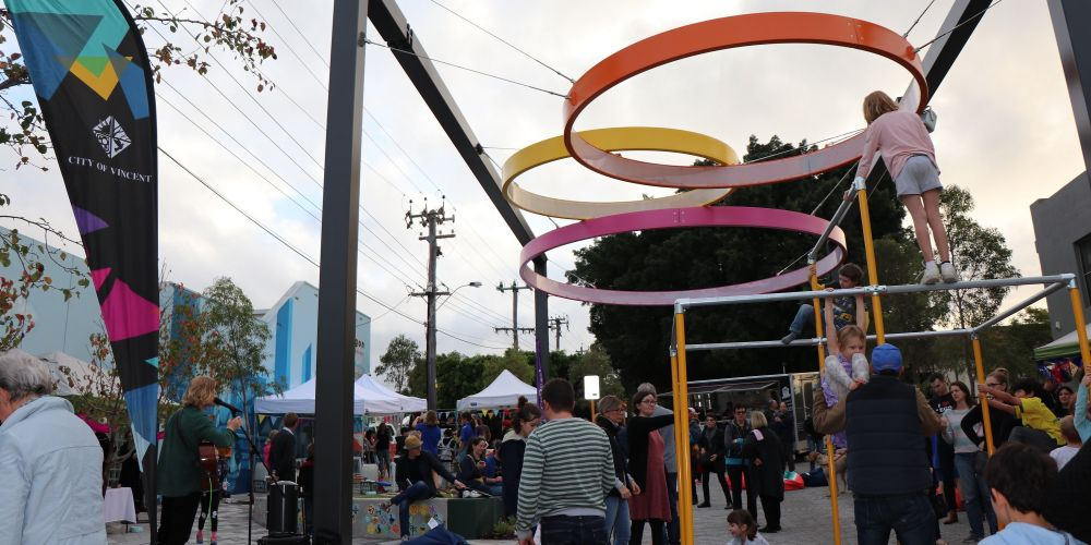 North Perth Common opening celebrations. Picture: Supplied.