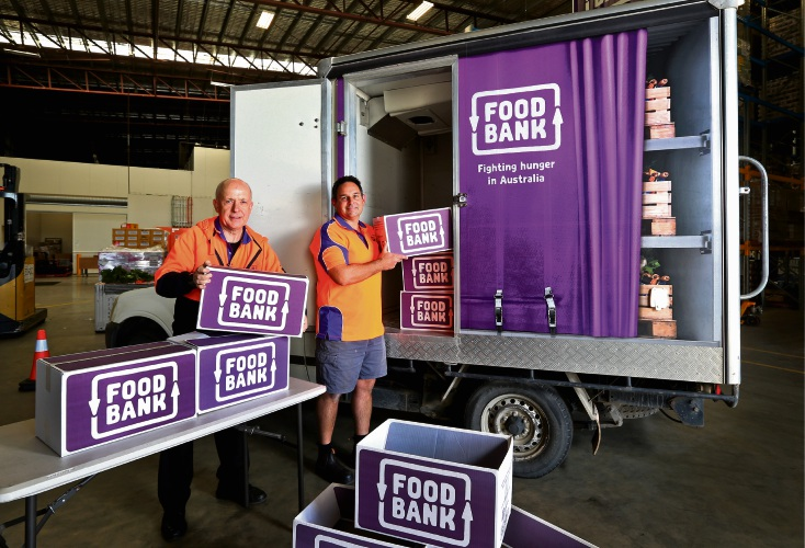 Pop up Foodbank to hand out free food tomorrow