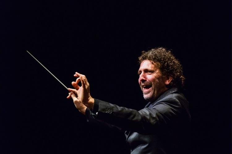 WASO principal conductor Asher Fisch.