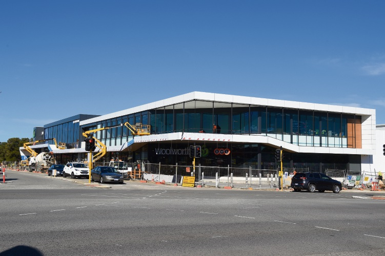 d494119 The Woolworths store in Mt Pleasant. Picture: Jon Hewson