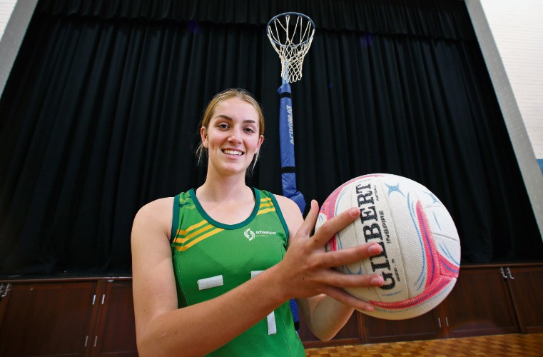 Rivervale teen Trinity Rond has received a scholarship at the WA Institute of Sport. Picture: David Baylis