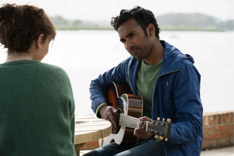 Lily James and Himesh Patel.