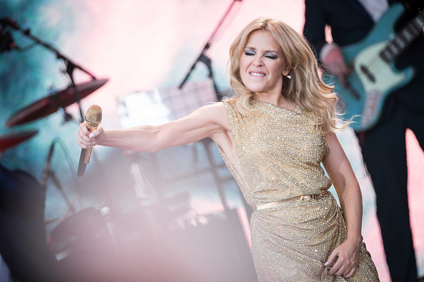Kylie Minogue performs at Glastonbury Festival. Picture: Ian Gavan/Getty Images