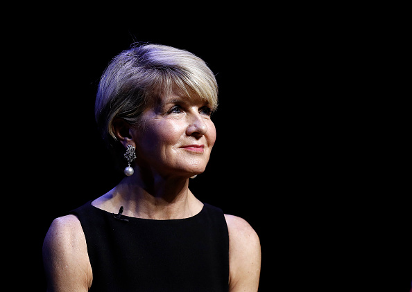 Former foreign minister Julie Bishop. Picture: Ryan Pierse/Getty Images