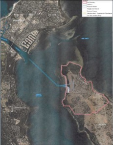 The design of Point Grey Marina proposal.