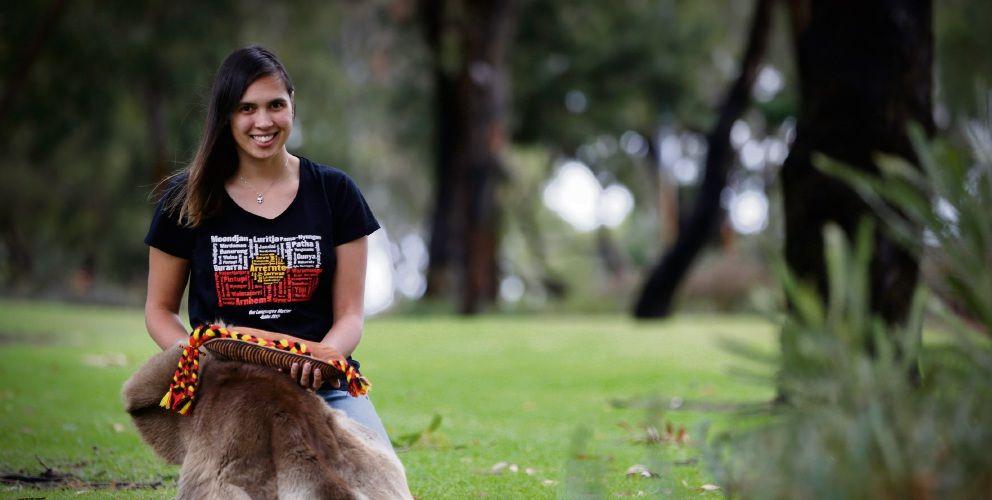 Jade Dolman will be taking the 'Explore Noongar art' workshop.