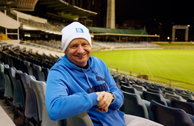 Crown Resorts chief executive Barry Felstead took part in his 10th CEO Sleepout
