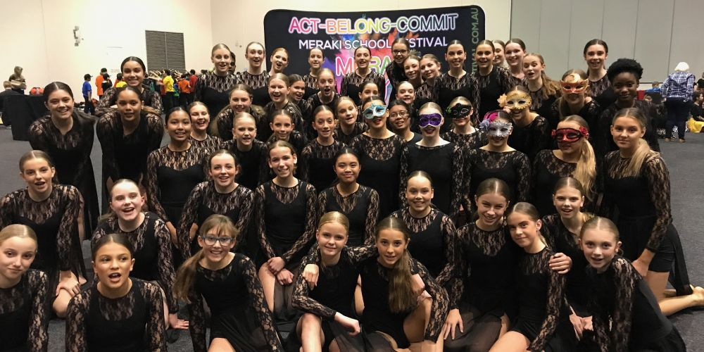 Mater Dei College won the dance section of the 2019 Meraki Festival.