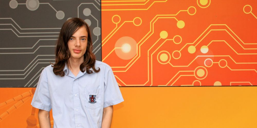 Willetton Senior High School student Sam Bateman.