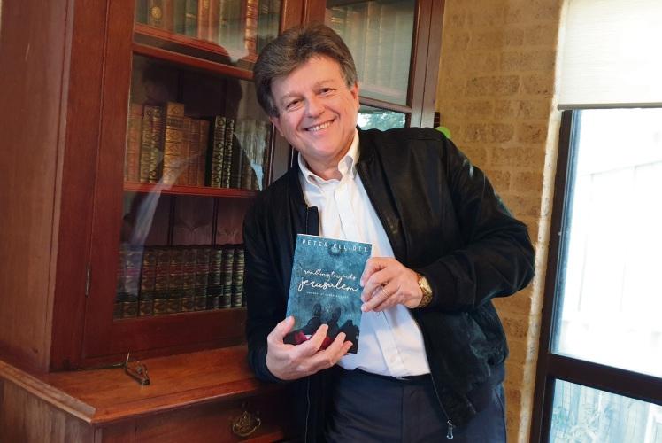 North Lake author Peter Elliott.