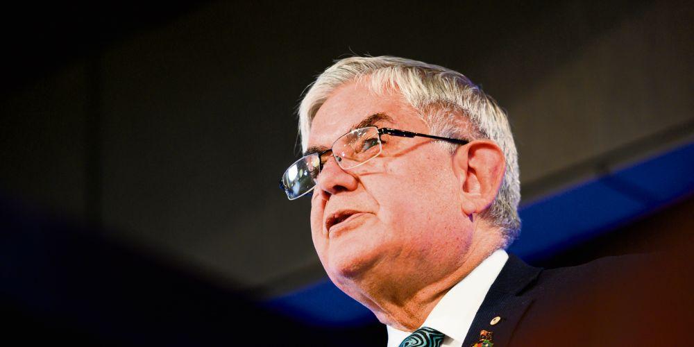 Indigenous Australians Minister Ken Wyatt.