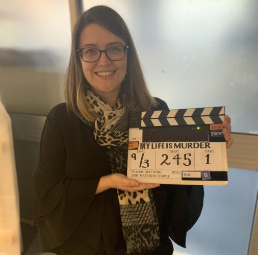 Claire Tonkin has created her own show My Life Is Murder which airs on July 17.