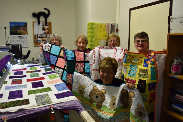 Pepperwood Quilters members. Picture: Kristie Lim