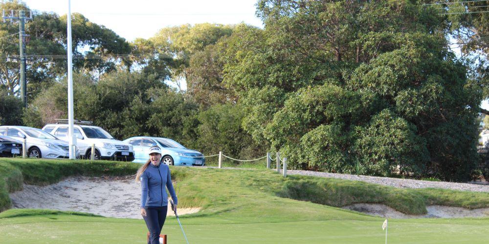 KPMG Women's PGA Champion Hannah Green.