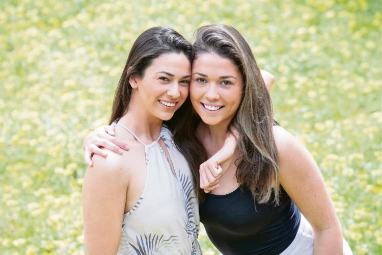 Mikaela and Eliza.