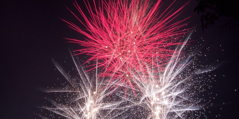 Fireworks in Wanneroo. Picture: Jarvis Eyes