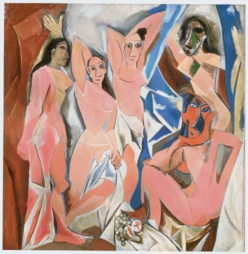 Les Demoiselles d'Avignon (The Young Ladies of Avignon).