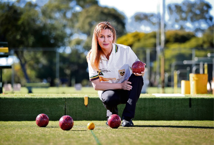 Julieanne Summers bowls over the competition