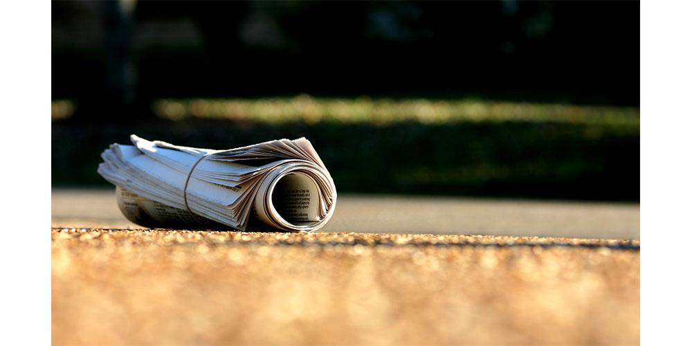 Newspaper distributors required