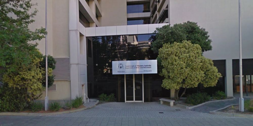 The Department of Mines, Industry Regulation and Safety building. Google Maps.