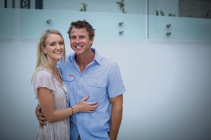 Mitchell Custom Homes directors Elsa and Simon Mitchell.