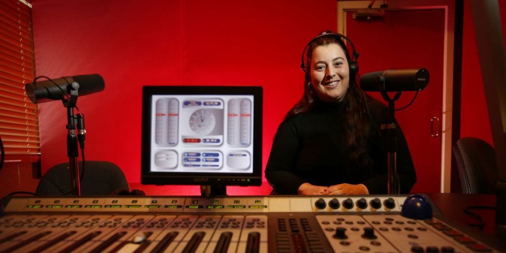 RTR FM  breakfast announcer Taylah Strano.