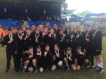 The bronze medal winning WA team (Photo: School Sports WA Facebook).