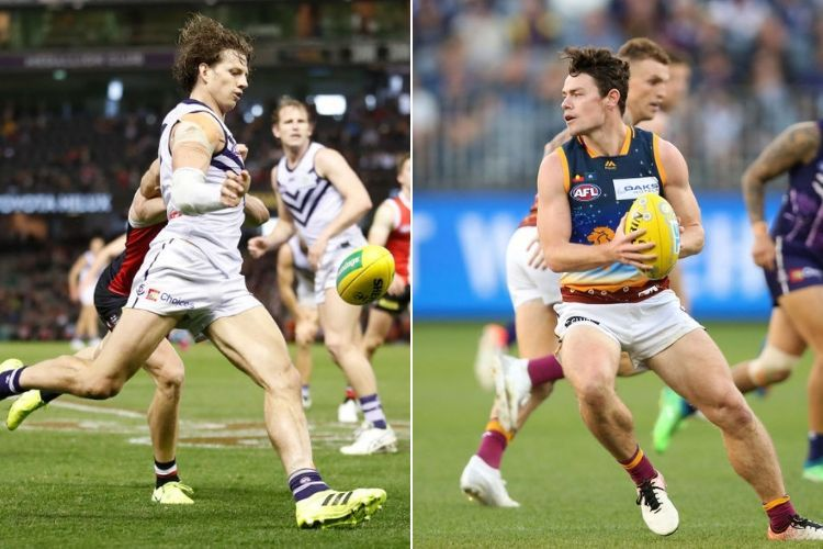Nat Fyfe and Lachie Neale are right up there in Brownlow reckoning.